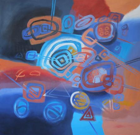 Meditations VI by Jacqueline Unanue