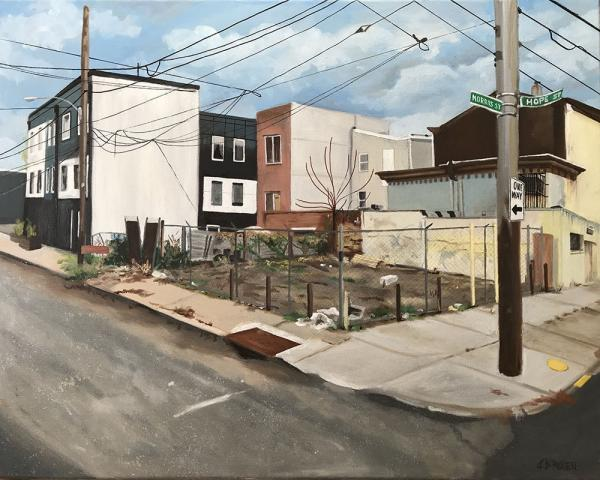 cityscapes, street scenes, buildins, houses, realism