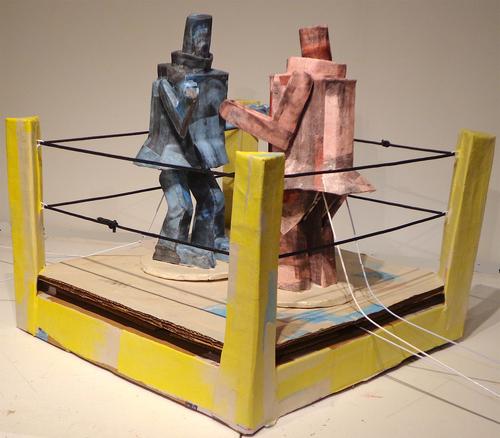 Tribute to Francis Bacon (Rockin' Sockin' Robots)