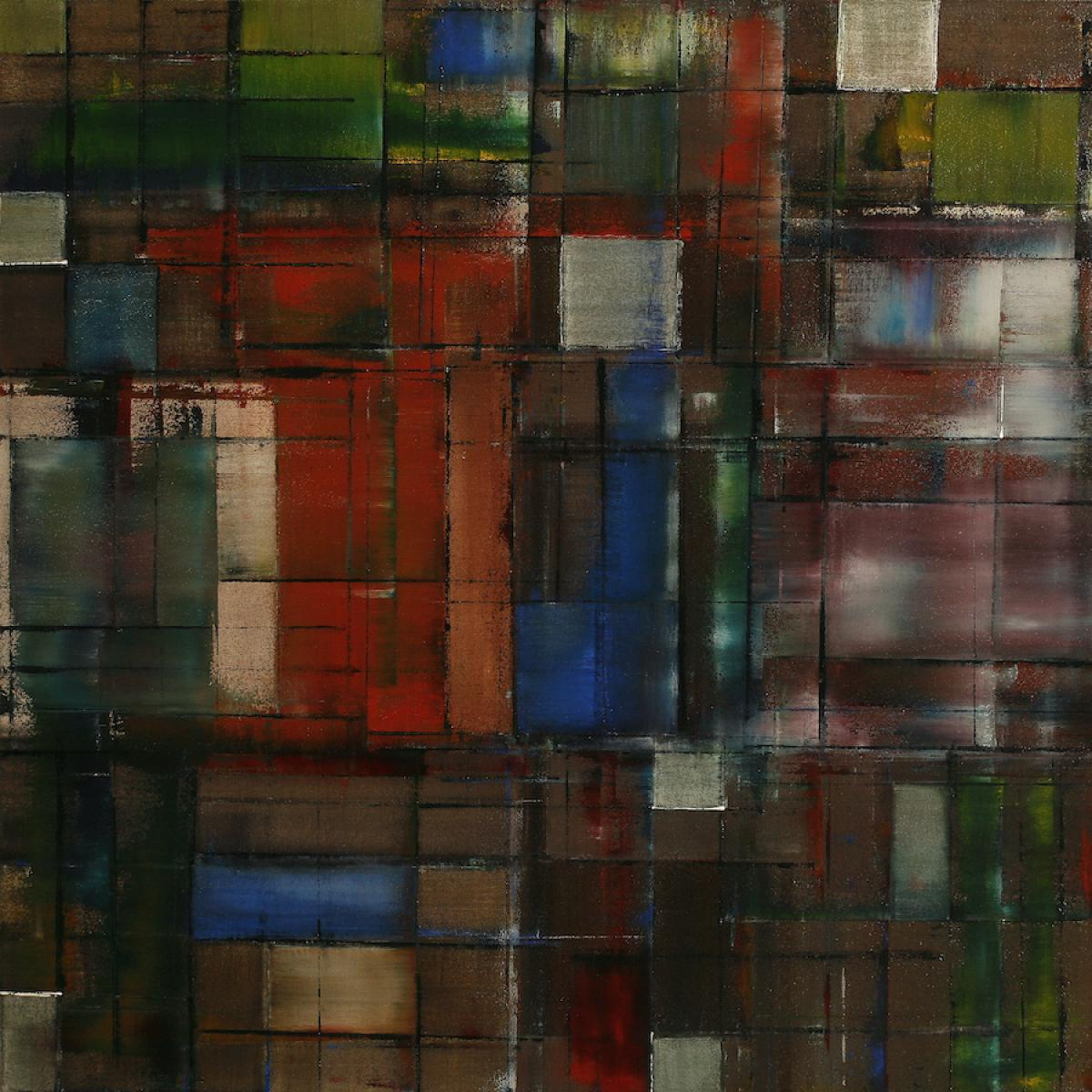 image of painting by artist Martha Hope Carey entitled The Geometers